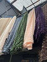 Плед покрывало из бамбукового волокна  200*230 разные цвета (код 725-1)