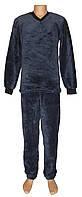 Пижама мужская махровая 18301 Classic Grey вельсофт, р.р.44-62