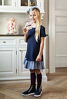 Платье на короткий рукав свободного кроя (134 см.)  Sly 5902730730538