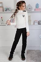 Гольф на девочку ангоровый рубчик  кл247, фото 1