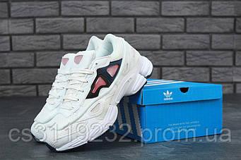 Женские кроссовки Adidas Raf Simons (белые)
