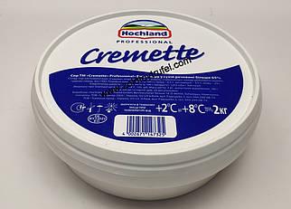 Крем-сыр Hochland «Cremette» 2 кг