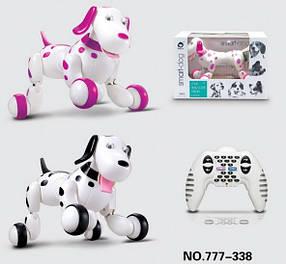Интерактивная собака-робот 777-338 Smart Dog с пультом управления, 2 цвета
