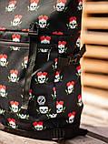 Городской рюкзак Rolltop BEZET Skull' 19, рюкзак ролтоп с принтом, фото 5