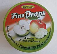 Леденцы Woogie Fine Drops со вкусом яблока 200g