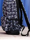 Городской рюкзак BEZET Dead racer' 19, рюкзак с принтом черепа, фото 4