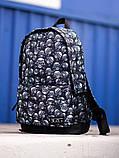 Городской рюкзак BEZET Dead racer' 19, рюкзак с принтом черепа, фото 3