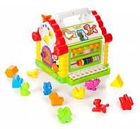 Развивающая музыкальная игрушка теремок 9196, фото 4