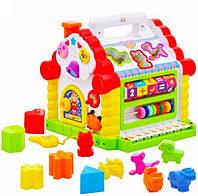 Развивающая музыкальная игрушка теремок 9196, фото 6