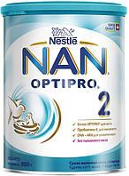 Nestle Молочная смесь NAN 2 OptiPro 800г Суміш молочна суха