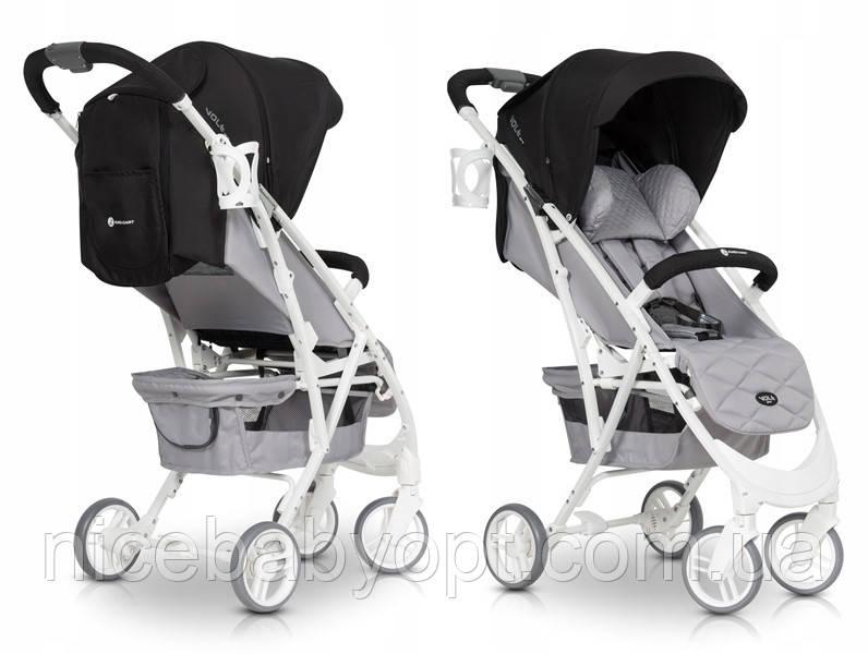 Дитяча прогулянкова коляска Euro-Cart VoltPro Antracite
