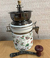 Кавомолка млин ручна керамічна Coffee Grinder