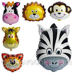 Кульки надувні фольговані «Тварини» MK 1332, 60х45 см, 6 видів
