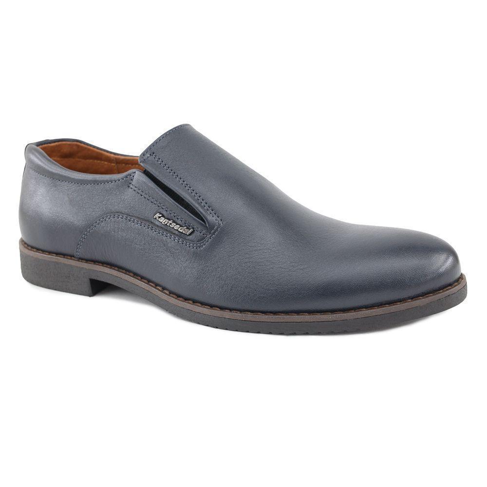 Туфли мужские кожаные классические на резинке  40-45