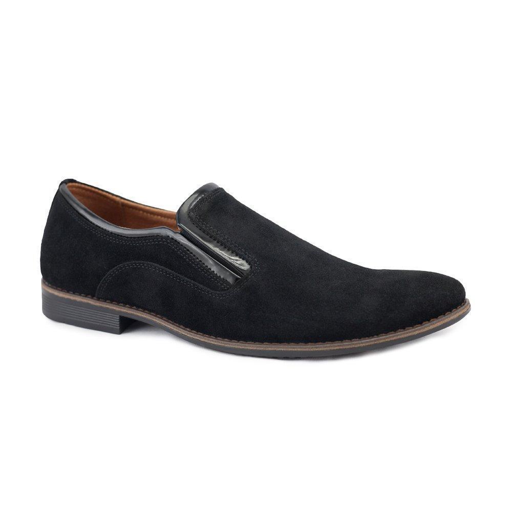 Модные замшевые мужские туфли  40-45