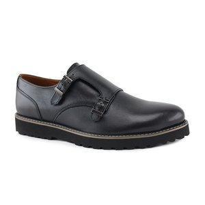Мужские кожаные туфли классические  40-45 черный