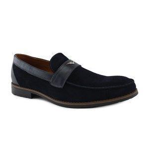 Мужские туфли из натуральной кожи  классические  40-45 черный