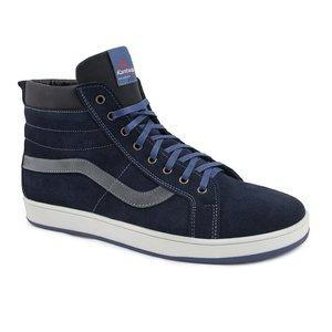 Зимние кожаные ботинки размеры 40-45 синий