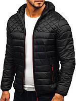Мужская куртка, черная, весна-осень
