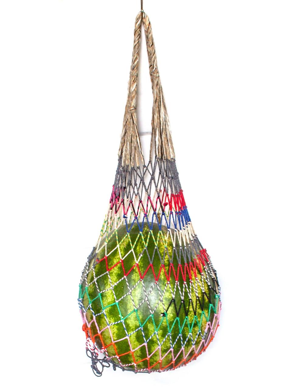 Эко сумка  - Шоппер сумка - Сумка для Арбуза - Эксклюзивная Французская сумка - Овощная сумка