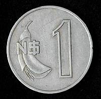 Монета Уругвая 1 новый песо 1980 г.