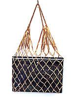 Органайзер для гаджетов - Атласная сумка -  авоська - мини - Красное золото, фото 1