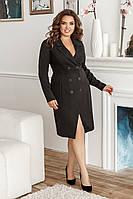 Платье-пиджак, №134, чёрное