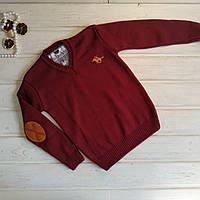 ✅Свитер для мальчика .Пуловер вязанный для мальчика Размеры 104-110 110-116