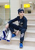 Детский спортивный костюм  с шапкой мальчик-девочка  ев88, фото 1