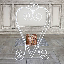 Подставка лоза-сердце 40 см 2210935127019
