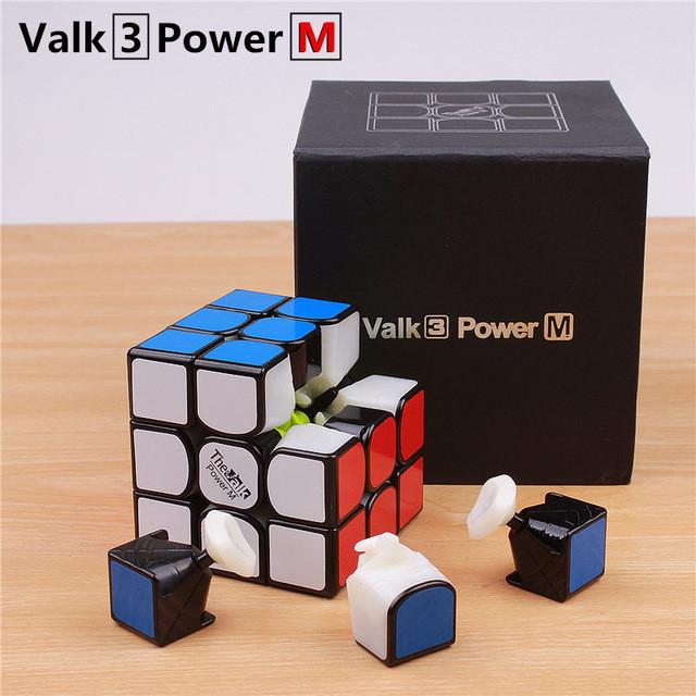Кубик Valk 3 Power M (магнитный) черный