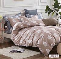 Семейный комплект постельного белья Ranforce - Листья
