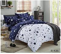 Семейный комплект постельного белья Ranforce - День и ночь