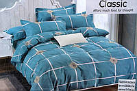 Двуспальный комплект постельного белья Classic - Изумруд