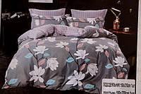 Семейное постельное белье Bayun белые цветы