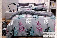 Семейное постельное белье Bayun серое
