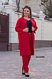 Женский брючный костюм двойка Костюмка Размер 48 50 52 54 56 58 60 62 В наличии 4 цвета, фото 6