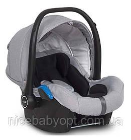 Детское автокресло-переноска EasyGo Starter (0-13 кг) Grey