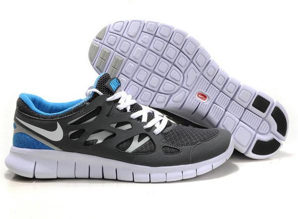 Кроссовки Nike Free Run 2.0 Dark Gray Серые мужские