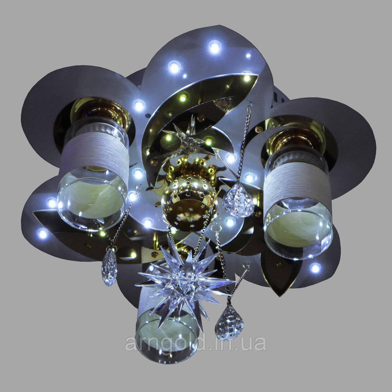 Люстра RGB LED  Космос 5-70119/3+1 D400