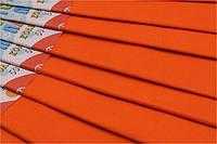 Папір кольоровий Гофрований 17г/м2 50х200см (креп папір CP-75-15), 75% Помаранчева Fresh уп10