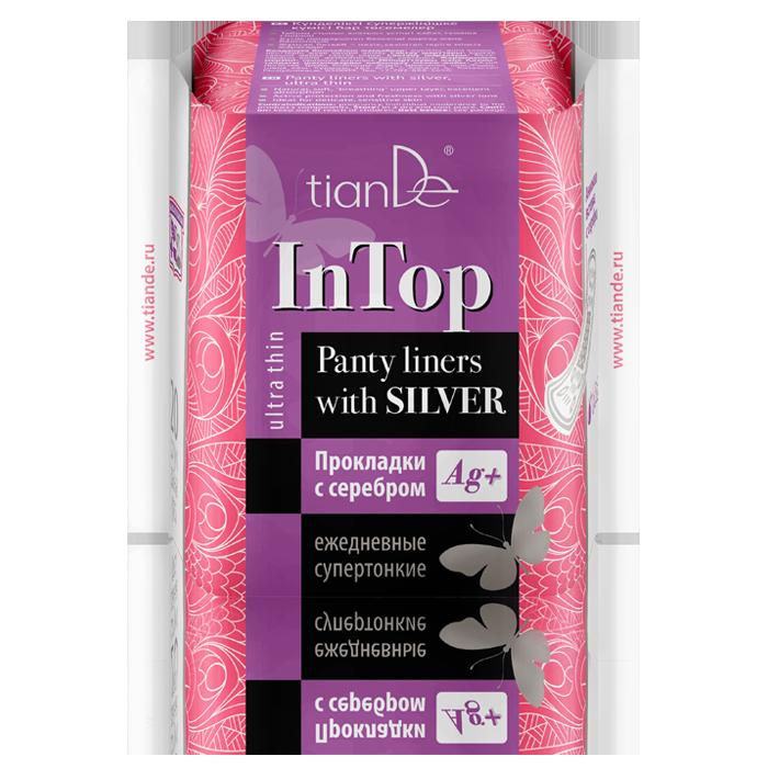 Прокладки InTop Тианде с серебром ежедневные cупертонкие 20 шт
