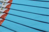 Папір кольоровий Гофрований 17г/м2 50х200см (креп папір CP-75-23), 75% Світло Блакитна Fresh уп10