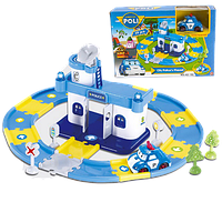"""Игровой набор City Police - Гараж для машин """"Robocar Poli"""" """"Робокар Поли"""" с 1 машинкой Поли (Poli)"""