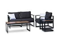 Дизайнерский комплект мебели в стиле Лофт из металла для дома, ресторана, офиса: