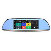 """🔥 Автомобильный видеорегистратор D35 (LCD 7"""", GPS). Видеорегистратор-зеркало, фото 1"""