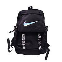 Рюкзак городской спортивный в стиле Nike черный, фото 1