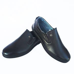 Мужские туфли мокасины Kangfu без шнурков