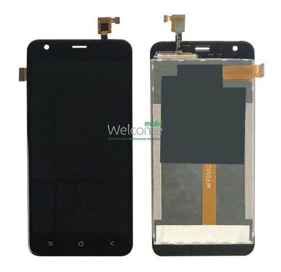 Модуль Blackview A7/A7 Pro black дисплей экран, сенсор тач скрин