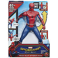 Большой интерактивный Человека-паук от Hasbro 38 см - Tech Suit Spiderman, Homecoming